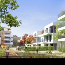 Projet à Herblay par l'architecte Christian Devillers
