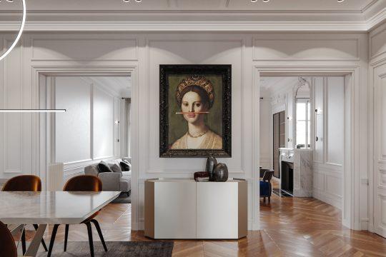 Appartement luxe architecte intérieur paris